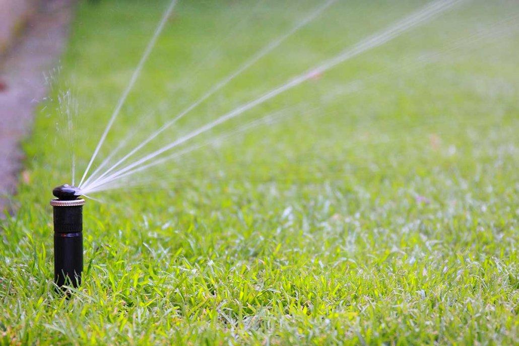 Automatische Bewässerung und Beregnung Privat- und Gewerbe-Garten und Sportplatz