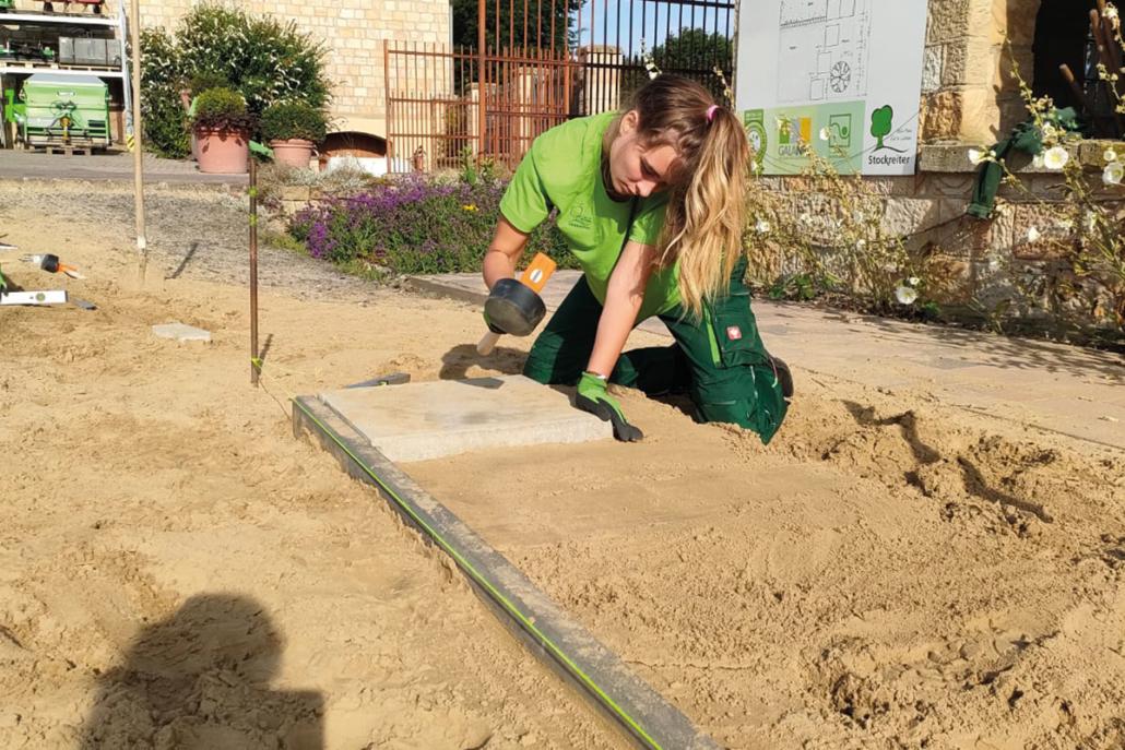 Ausbildung bei Stockreiter, Garten und Landschaftsbau