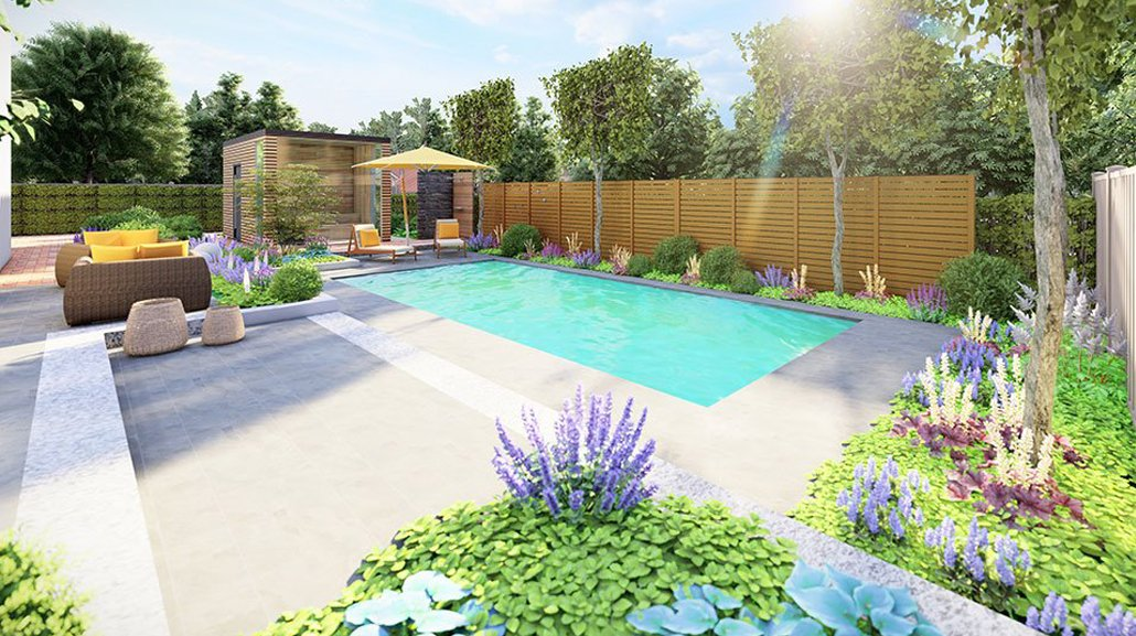 3D Garten- und Poolplanung