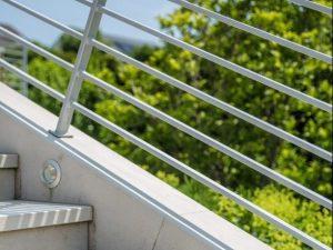 Absturzsicherung und Brüstung im Raum Osnabrück Ibbenbüren Bramsche Recke Lotte für Balkon Treppe und Rampe aus Edelstahl