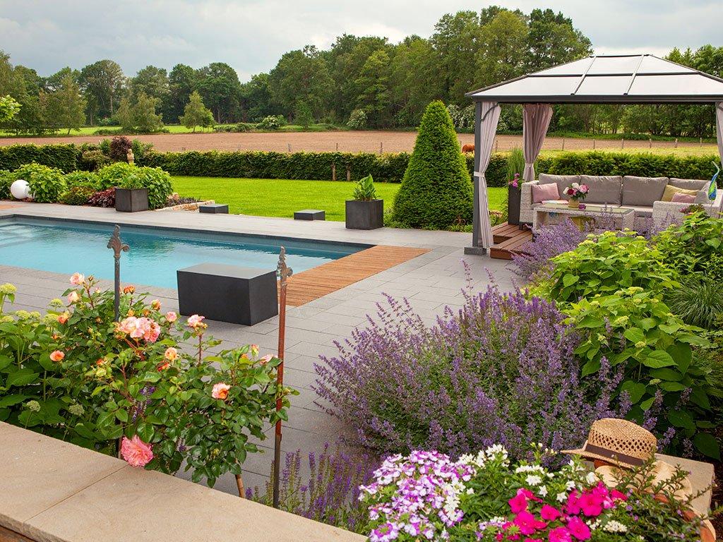 Gartengestaltung mit Pool Westerkappeln