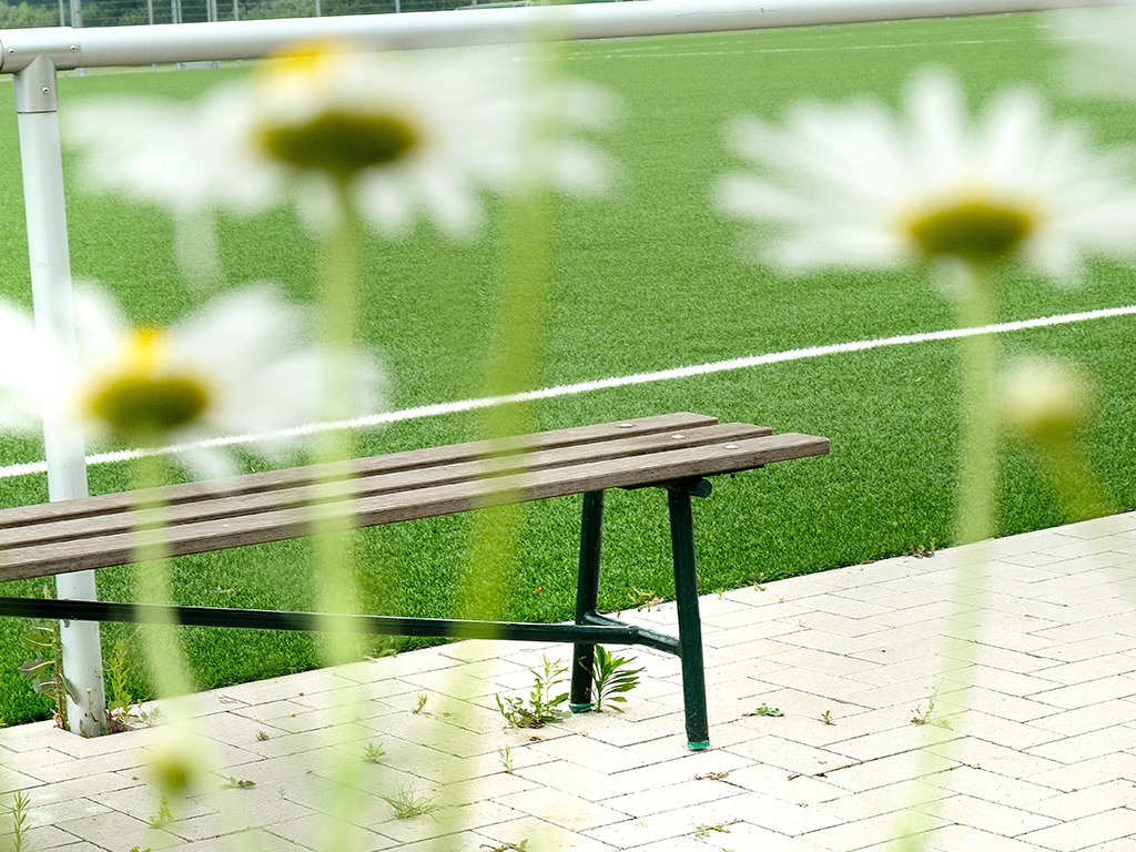 Gestaltung Sportplatz mit Kunstrasen Kunstrasenplatz