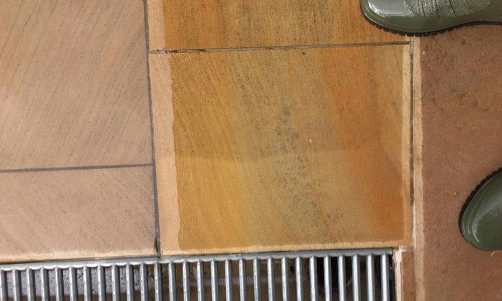 Terrassenreinigung, Steinreinigung, Steinpflege, Pflasterreinigung Osnabrück