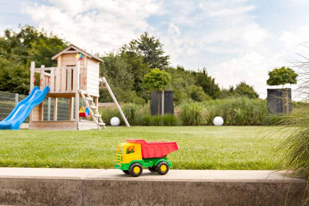 Familiengarten Westerkappeln mit Gräsern