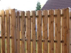 Zaunbau mit Holz und Holzzäune im Raum Osnabrück Ibbenbüren Bramsche Recke Westerkappeln Lotte Laggenbeck
