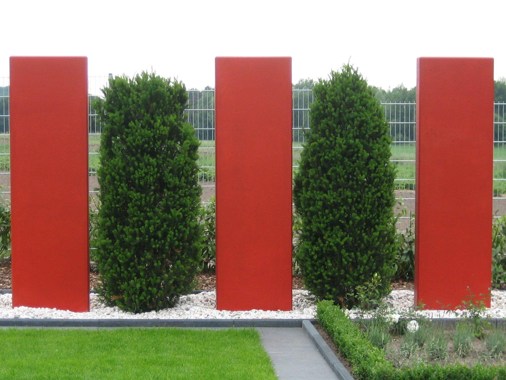 Metall Im Garten Sichtschutz Hochbeet Metallarbeiten Fa Stockreiter
