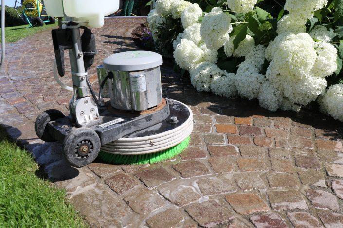 Reinigungsmaschine Pflaster ohne Gift Detail