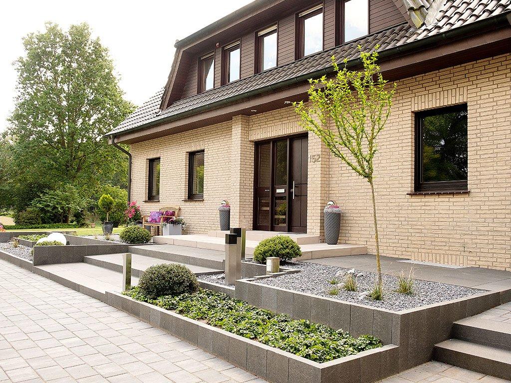 Vor- und Hausgartengestaltung - Natur trifft Stein Hopsten