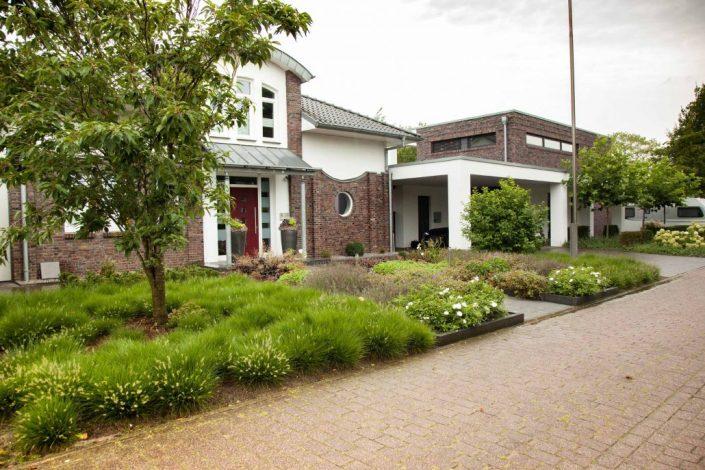 Vorgarten Hasbergen Vorgartengestaltung Bepflanzung Pflasterung