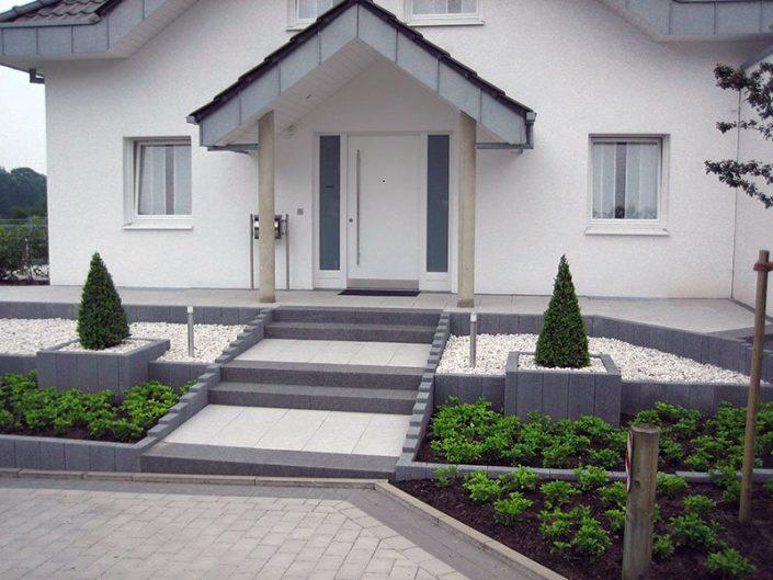 Vorgarten in Osnabrück modern und pflegeleicht Vorgartengestaltung